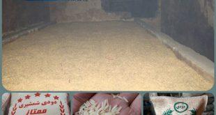برنج دودی درجه یک
